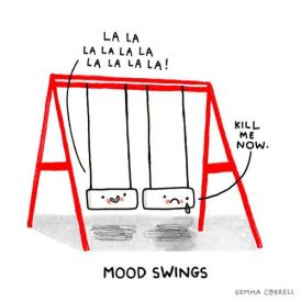 Gemma Correll-mood swing